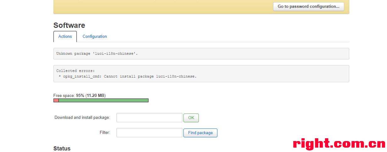 求助openwrt18 06 2搜不到中文包已更新软件源| 恩山无线论坛